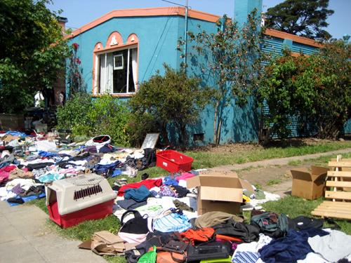 Berkeley yard sale