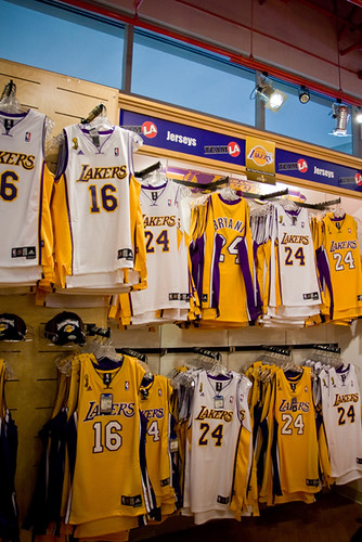 Lakers NBA Finals Jerseys