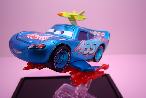 SDCC CARS Lightning Storm McQueen