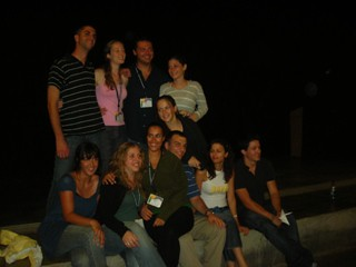 The Israeli Birthright alums who made the weekend retreat possible for the rest of us / photo taken by Rachel Mauro