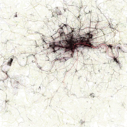 The Geotaggers' World Atlas #2: London by Eric Fischer.