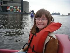 Li in a paddleboat