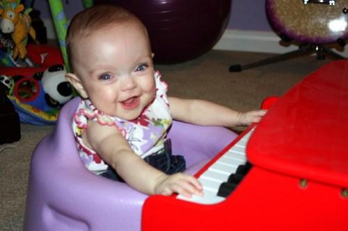 Piano baby!