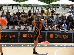 Pirueta de las Cheerleaders Orange