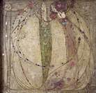 Margaret MacDonald. The White Rose and the Red Rose. 1902.