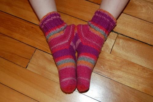 Kidlet's socks