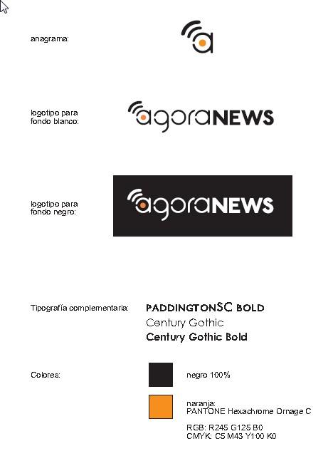 imagen corporativa Agora News