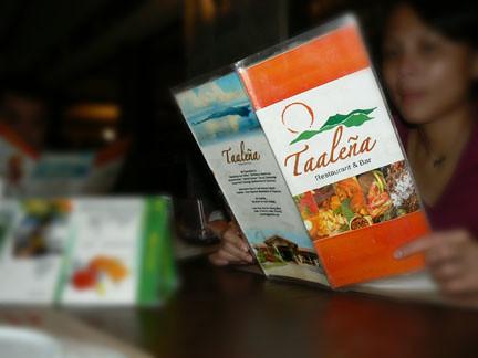 taalena menu