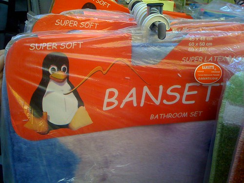 Linux bathroom set