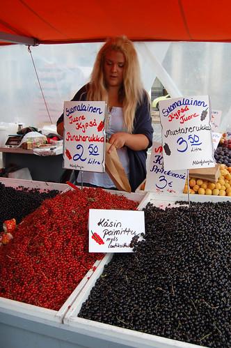 Redcurrants and Blackcurrants