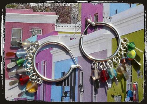 Orecchini multicolore - Multi colour earrings MEHIAMC