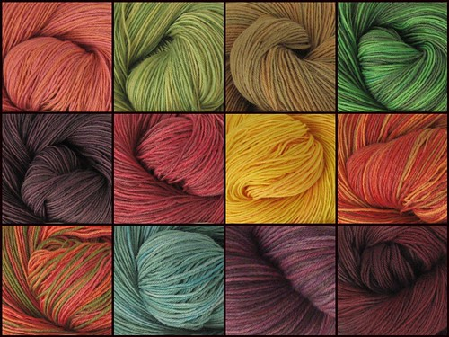~ hand dyed yarn from the Jewells Handmades ~