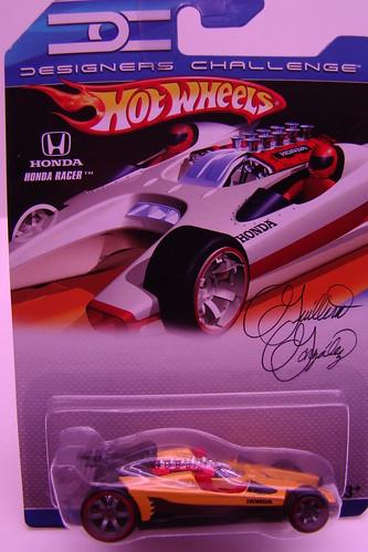 Hot Wheels Desinger Challenge honda racer