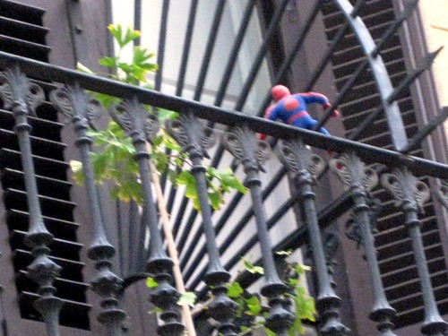 Spiderman lives in Barcelona!
