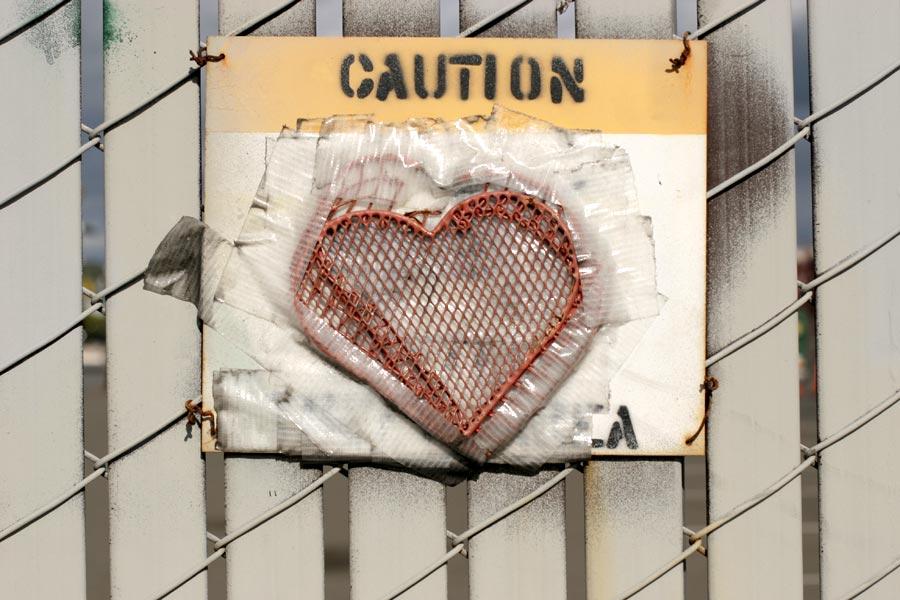 Caution: heart
