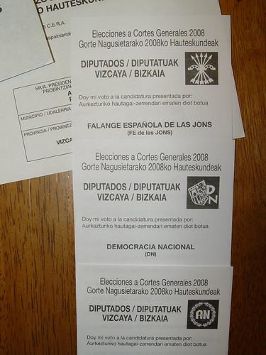 Elecciones?