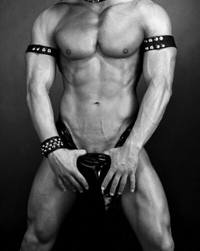 half-naked man, hard muscle, pose, personality, gentleman, behavior, understanding, happy, sincere