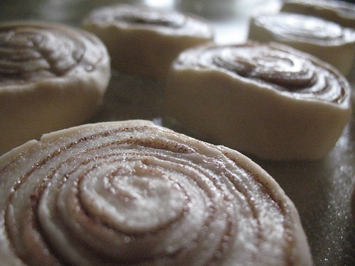 my first cinnamon rolls