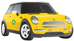 Zipcar Zip Zip!