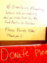 Food Drive at the Meekins Library