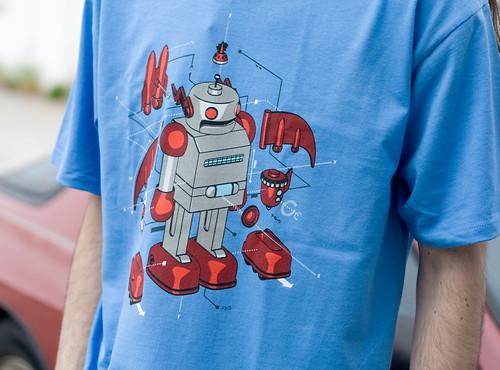 Mozilla Robot Shirt
