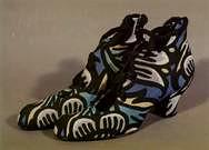 Par de zapatos para dama. 1914.