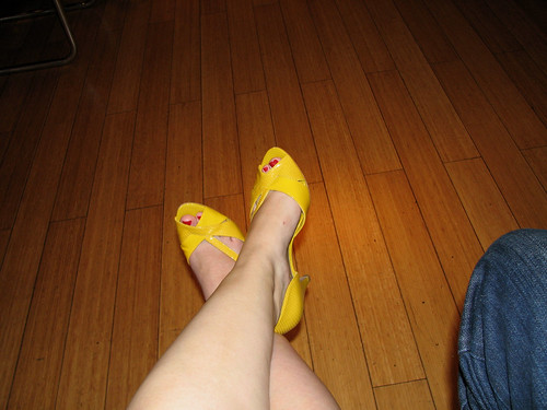 My Precious Yellow Shoes