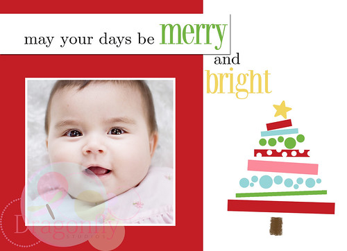 merry and bright (one sided)