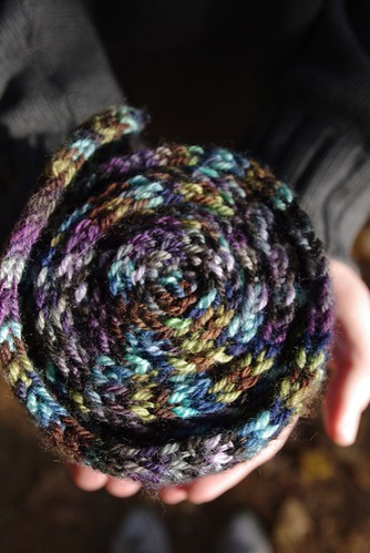 Coiled Scarf