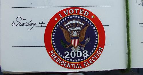 I got my vote on today