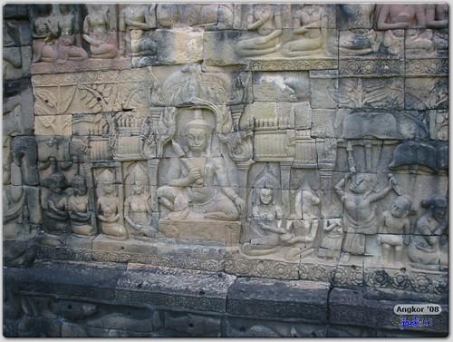 Bas Relief - Terrace of Leper King