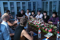 UK delegation meeting Chinese Uni Students