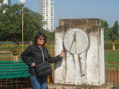 Mumbai_蓋 在海上的公園日晷