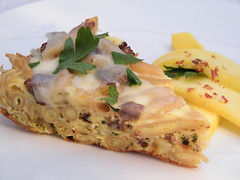 2 Dudes 1 Pan Frittata by MyLastBite.com