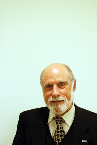 Vint Cerf, VP and Chief Internet Evangelist at Google