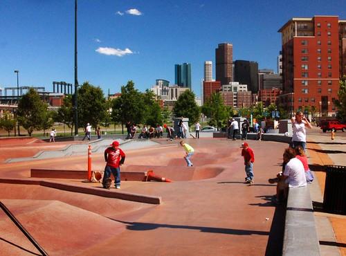 Denver skate park. cc: Flickr user nicholsphots