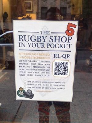 Ralp Lauren Rugby QR code