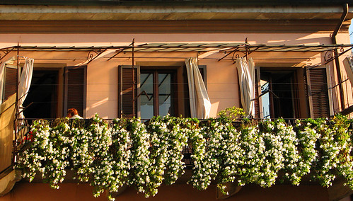 A beautiful balcony in Stresa by you.