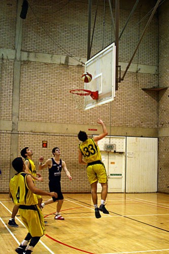 Men's Basketball vs. Newcastle , Alexandru Hristea, 26 (6)