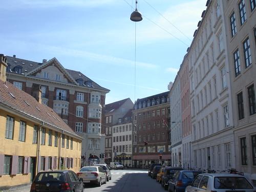 Les rues tranquiles de Copenhague