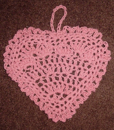 Valentine Washcloth by you.