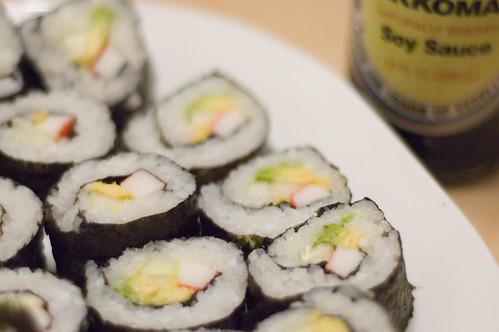 sushi! (by bookgrl)