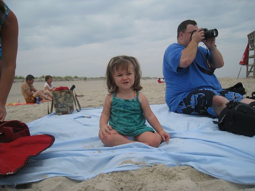Amelia at the Beach