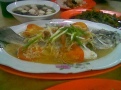 SP steamed fish