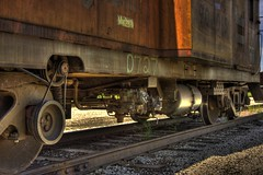 Caboose alternator, belt & wheels