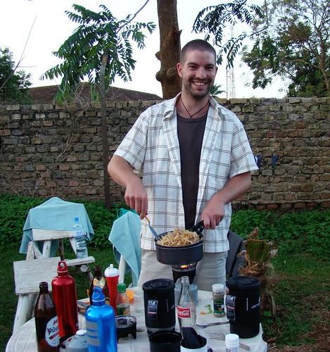 Camp Cooking With Michael Jones