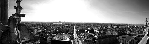 Vue de la cathédrale de Reims