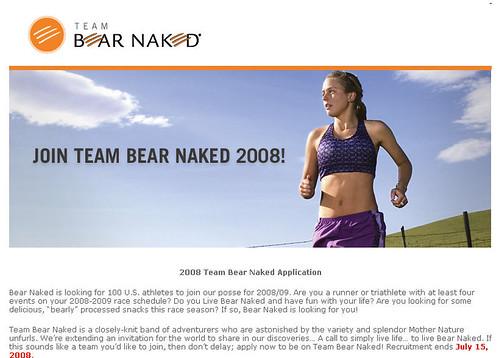 Team Bear Naked
