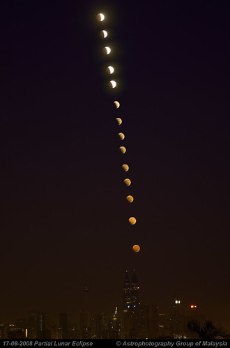 20080817 Partial Lunar Eclipse by thchieh. Click to enlarge.