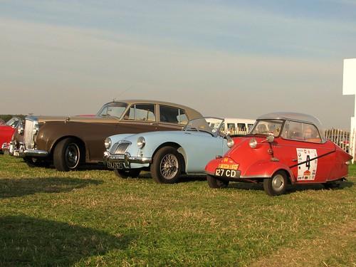 Bentley, MGA and Messerschmitt